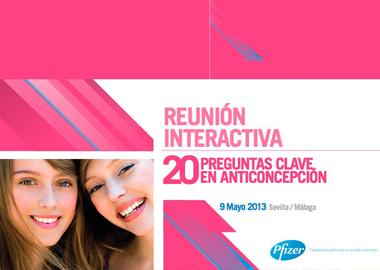 Reunión Interactiva. 20 preguntas clave en anticoncepción